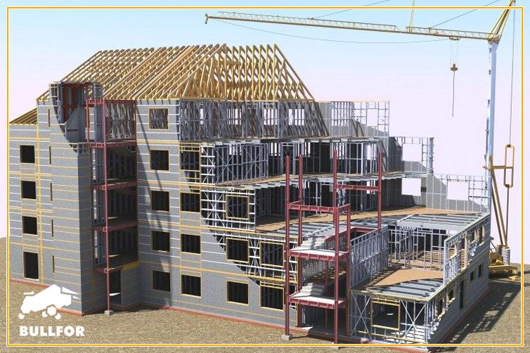 Estruturas metálicas viabilizam a construção rápida de obras comerciais