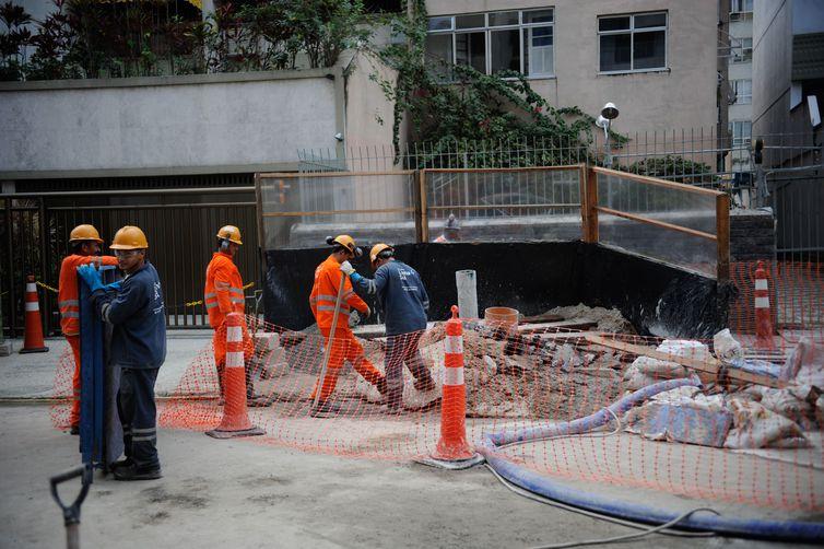 Inflação da construção civil é de 0,45%