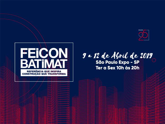 FEICON BATIMAT 2019 - Estaremos lá!